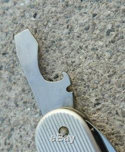 Victorinox alox Voyageur ribbed swiss army knife