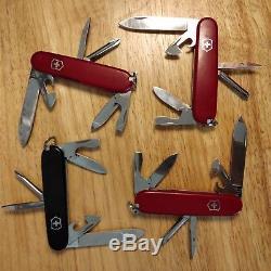 Victorinox swiss army knife SAK lot of 22 huntsman tinker champion and more