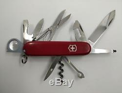Victorinox swiss army knife lot of 8 cybertool explorer deluxe tinker huntsman