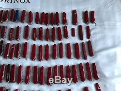 Victorinox wenger mega huge lot 230x swiss army knife pocket knife lot +50 boxes