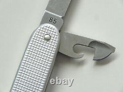 Vintage 1985 Wenger Switzerland Delemont soldier alox Swiss Army Knife Messer 85