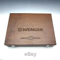 Vintage 2013 Wenger United Woods 6 Pc Swiss Army Knife Set Limited Edition MIB
