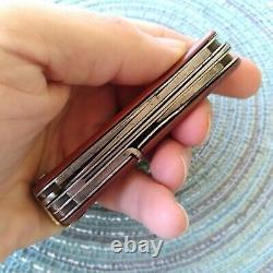 Vintage Antique Pre WW1 Victorinox Elsener Schwyz Swiss Army Pocket Knife