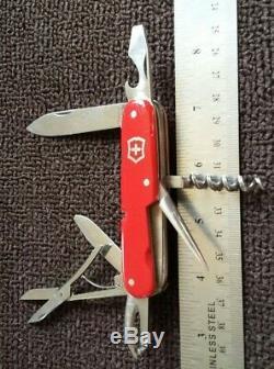 Vintage Rare Swiss Army Victorinox Armee Suisse Pocket Knife Inoxyd Sak