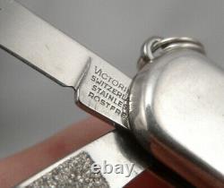 Vintage TIFFANY & CO Sterling Silver 18K Gold Swiss Army Folding Pocket Knife