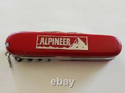 Vintage Victorinox 452 Alpineer Swiss Army Passenger Knife