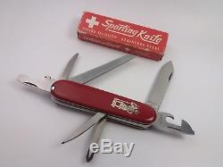 Vintage Victorinox Motorist Elinox St. Christopher SAK (8134ma) Swiss Army Knife