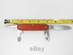 Vintage Victorinox Soldier Pioneer Model Alox Red Swiss Army Knife