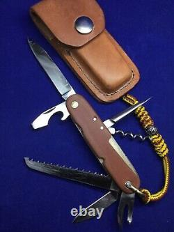 Vintage Wenger Tahara 91mm Swiss Army Officer Knife