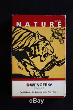 Vintage Wenger/Victorinox Swiss Army Knife Limited Nature Series NOS
