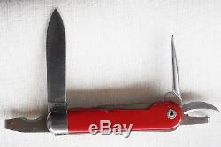 Vintage Wenger/Victorinox Swiss Army Knife Type 1951 with Grilon Scales