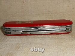 Vtg Victorinox Motorist St. Christopher Swiss Army Knife Elinox Nice Carried