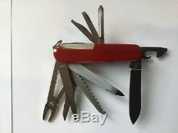 Vtg Victorinox Swiss Army Knife Master Craftsman Apollo 11 20th Anniversary RARE