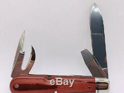 WENGER 1893 MODEL 125th Anniversary Heritage Swiss Army Knife + Box papers