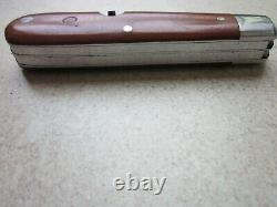 WENGER DELEMONT 1944 Old Cross Swiss Army Knife Sackmesser Couteau Militaire