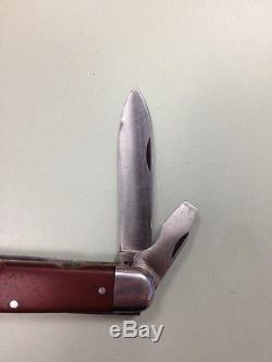 WENGER SOLDAT 1955 SOLDIER STANDARD Swiss Army Knife SAK Model 1951 Wengerinox