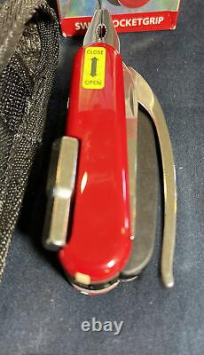 WENGER SWISS POCKETGRIP Multitool Swiss Army Knife NEW SUPER RARE! NOS