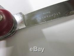 WENGER WENGERINOX Old cross Swiss Army Knife Couteau Suisse Sackmesser