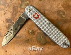 Wenger 100th Anniversary Swiss Army Knife Alox Limited Edition RARE Victorinox