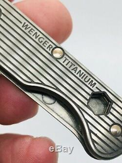 Wenger 16997 Titanium 1 Swiss Army Knife SWISS ARMY KNIFE VINTAGE NIB
