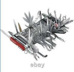 Wenger 16999 Swiss Army Knife Giant Rare (Leggere La Descrizione) Couteau