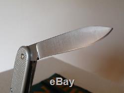 Wenger Delemont Swiss Army Knife Sak Vintage 1975 Alox Soldier Wk Mod 61