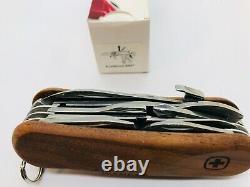 Wenger Evowood S557 Walnut Lock Blade 85mm Swiss Army Knife