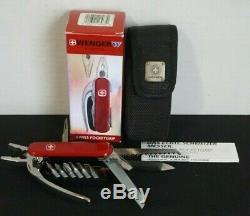 Wenger Genuine Swiss Army Knife Pocket Grip Multi Tool NIB