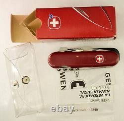 Wenger Large Mountain Bike Swiss Army Knife. New, retired NIB #6240