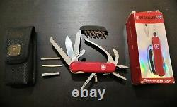 Wenger PocketGrip MiniGrip Swiss Army Knife/Pliers + Wenger Sheat! No Victorinox