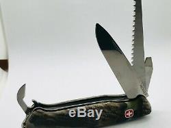 Wenger Ranger 55 Hardwoods 130mm Pocket Swiss Army Knife Vintage Nib 16853