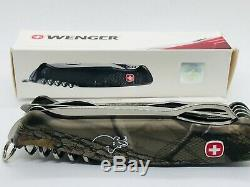 Wenger Ranger 57 Hunter Hardwoods 130mm Pocket Swiss Army Knife Vintage Nib