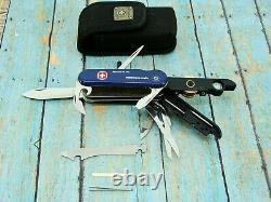 Wenger Sgt Shortix Plus Diamond Gc Column Cutter Swiss Army Pocket Knife Tool