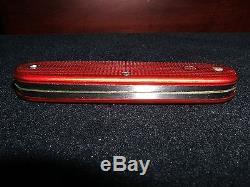 Wenger Standard Issue Red Alox Swiss Army knife 1964 near mint