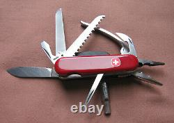 Wenger Swiss Delemont Pocketgrip Multitool Swiss Army Knife / Serrated Blade