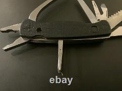 Wenger SwissGrip 120mm Black Swiss Army Knife Rare