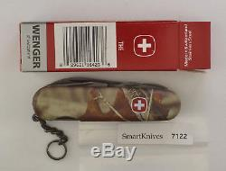 Wenger Teton Serrated Swiss Army knife (camo)- retired, new in box #7122