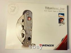Wenger Titanium 3 Ueli Steck Special Edition (now Victorinox) Swiss Army Knife