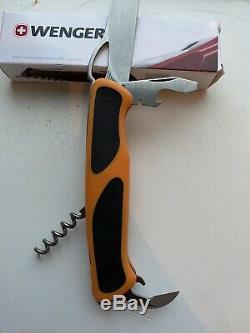 Wenger (Victorinox) Ranger Orange Swiss Army Knife
