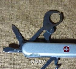 Wenger Zino Delemont CIGAR CUTTER Swiss Army Pocket Knife Multi Tool PLATINUM