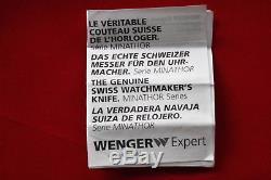 Wenger now Victorinox Swiss Army Knife RARE LONGINES MINATHOR