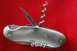 Wenger now Victorinox Swiss Army Knife WENGER PORSCHE DESIGN Cigar Cutter